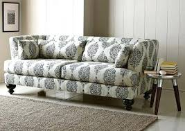 Fabric Patterned Sofas Sofa From West Elm Shabby Chic Or  Just Plain   Printed U67