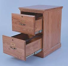 two drawer wood file cabinet. 2 Drawer Wooden Filing Cabinet Two Wood File