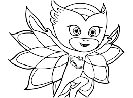 Pj Masks Coloring Pages Printables Coloring Beautiful Page