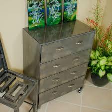 Steel Bedroom Furniture 4 Drawer Steel Dresser By Boltz Boltz Steel Furniture