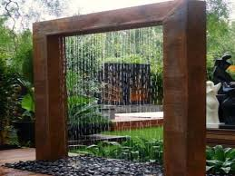 Modern Water Features Outside Water Fountains Garden Outdoor Wall Features Modern