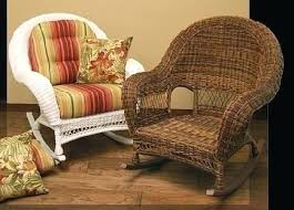 wicker rocking chair. Wicker Rocking Chair Chairs Indoor Rocker Outdoor Porch Antique