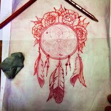 Dream Catcher Tattoo Sketch Deft Tattoo Studio Original Art Other Drawings Dreamcatcher 100