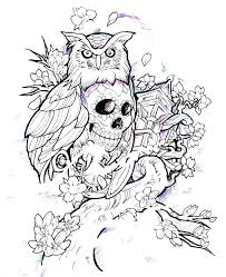 Owl Printable Coloring Pages Moonoon