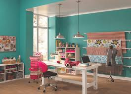 home office color. teal home office color
