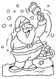 Kleurplaat Kerstman Afb 6517 Images