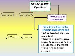 15 solving radical equations two radicals