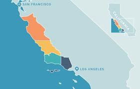 California Regions Regions Of Californias Central Coast Central Coast