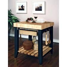 Butcher Block Table On Wheels Kitchen Block Kitchen Island Mobile