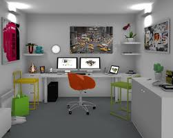 free office design software. Office Interior Design Ideas- Ideas, 3D Created With Free Home Software C