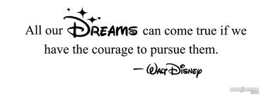 Walt Disney Quote