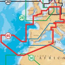 Navionics Gold Chart Cartridge Navionics Gold 46xg Chart Europe West Navigation Charts