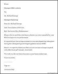 Employee Dismissal Letter Template Atlasapp Co