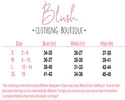 Lush Clothing Size Chart Neon Floral Tank