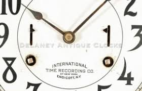 Time Recording International Time Recorder Of Endicott New York A Time
