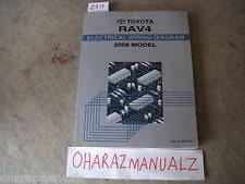 rav wiring 2008 toyota rav4 electrical wiring diagram oem dealership service manual