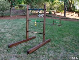 we played ladder golf with family and i knew it was the perfect game for our yard