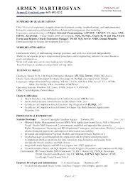 Oracle Sql Developer Resume Pl Developer Resume Download Developer New Resume For Oracle Developer