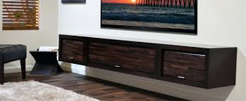 Modern Wall Mounted Media Cabinet Floating Stands Entertainment Center  Walls Mount Consoles Hanging With Doors