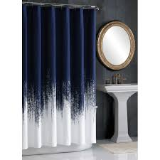 Vince Camuto Lyon Brushstroke Printed Shower Curtains Free