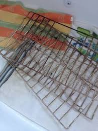 Porcelain Coated Oven Racks Clean oven rack or blinds in the tub or a big trash can with 100 35