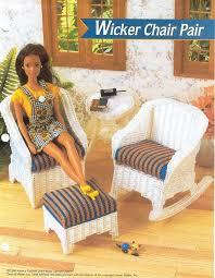 wicker rocking chair ottoman digital
