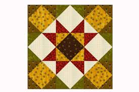 Decorate a Quilting Gift with Folded Fat Quarter Stars & Choose from Two Sizes when You Sew Kansas Star Quilt Blocks Adamdwight.com