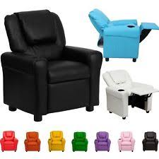 recliner chairs for kids. Perfect For Item 3 Kids Children Recliner Premium Kid PU Leather Lounge Chair Sofa W  Drink Holder Kids  Intended Chairs For I