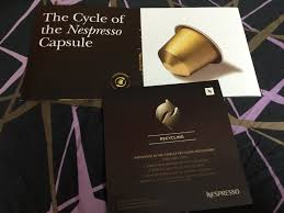 eyewise vision clinic is paring in the nespresso coffee capsules recycling project from 25 september 2016