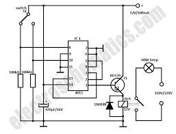 door light switch automatic door light switch circuit schematic
