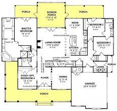 open floor plan house blueprints lovely 3 bedroom farmhouse floor plans 3 bedroom 3 bath country