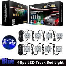 2016 Ram 2500 Led Bed Lighting Partsam Truck Box Light 48 5050 Smd Rock Light For Trucks Led Truck Bed Lights Kits Blue Lights For Vans Trailers Under Off Road Truck Suv Pickup