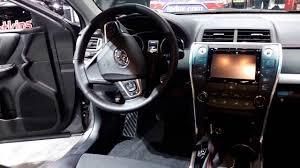 2016 Toyota Camry SE Interior Walkaround Price Site Toyota Cars ...