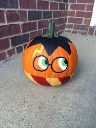 pumpkin coloring ideas harry potter painted pumpkin diy or dim do it mysel on pumpkin decorating