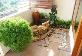 how to make a japanese balcony garden