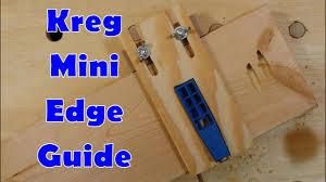 Edge Guide For Kreg Mini Pocket Hole Jig