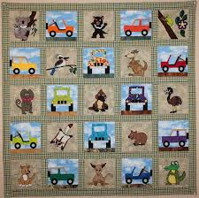 Applique Baby Quilt Patterns Simple Design