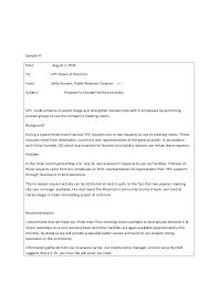 Letter To Board Of Directors Sample Business Letters Structuring