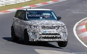 2018 land rover sport svr. contemporary 2018 2018 land rover range sport svr spy shots and video gallery 1   motorauthority with land rover sport svr e