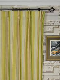 ... Phoebe Vertical Stripe Single Pinch Pleat Linen Curtains Heading Style  Phoebe Vertical Stripe Single Pinch Pleat Linen Curtains Heading Style ...
