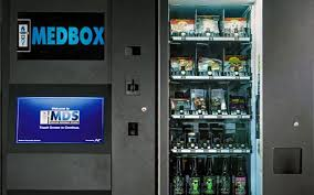 Healthy Vending Machines Denver Fascinating MINA Breaking News Canada's First Pot Vending Machine Starts
