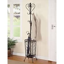 Coat And Umbrella Rack Amazon Coaster Home Furnishings 100 Metal Coat Rack with 2