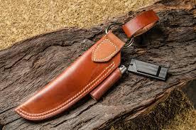 bushcraft leather brown