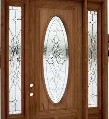 wooden door with glass window by size smartphone medium