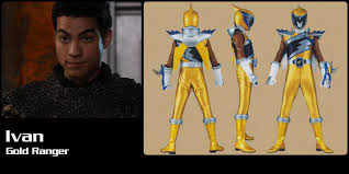 Ivan, Dino Charge Gold Ranger | Power Rangers Central