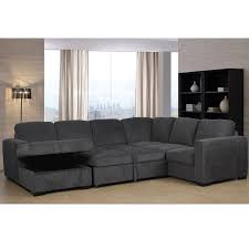 sectional sleeper sofa storage chaise