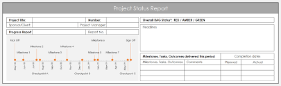 Work In Progress Excel Template Using Excel For Project Management