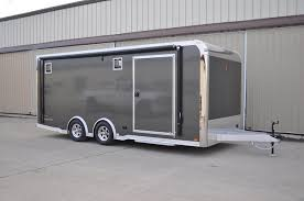 Car Trailer Lights And Accessories 24' InTech Aluminum Race Trailer InTech Trailers For Sale RPM 22