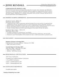 Hospice Nurse Resume Examples Excellent Hospice Nurse Resume Objective Ideas Entry Level Resume 2