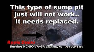 sump pump installation crawl space. Beautiful Space Crawl Space Waterproofing Sump Pit And Pump Install To Installation E